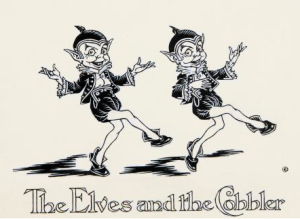 the Elves and the Cobbler